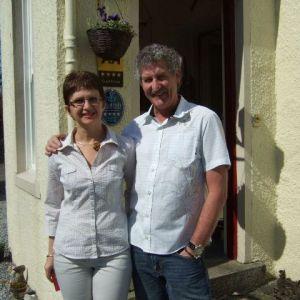 Bild Bev und Tobi aus Schottland