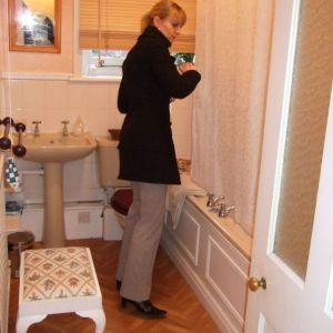Bild Passt alles im Badezimmer? Check! Alles in Ordnung
