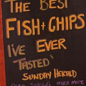 Bild Fish und Chips - in Schottland einfach überall lecker