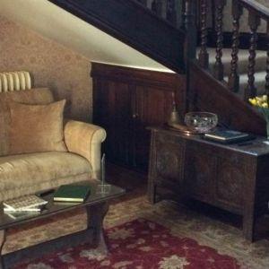 Bild Der Eingangsbereich des Guesthouses in den Cotswolds