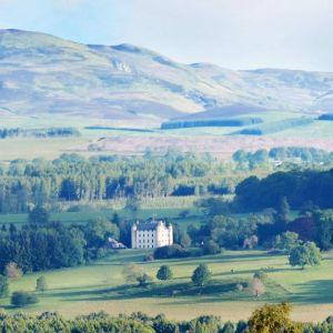 Bild Blick auf die schottische Burg