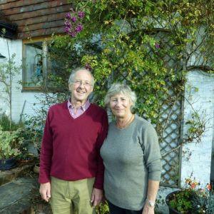 Bild Unser langjähriger Freund und Partner Richard mit Gattin Liz