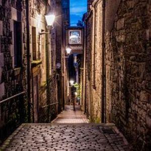 Bild Die nächtlichen Gassen der schottischen Hauptstadt