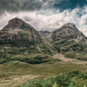 Bild Blick auf die Berglandschaften Schottlands