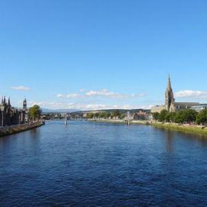 Bild Das Städtchen Inverness