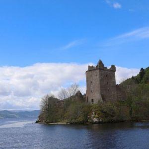 Bild Urquhart Castle am Loch Ness