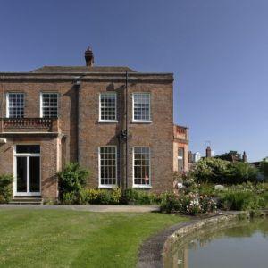 Bild Blick auf das wunderschöne Herrenhaus