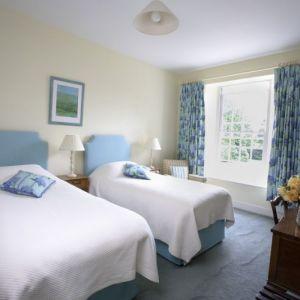 Bild Eines der Schlafzimmer des Herrenhauses