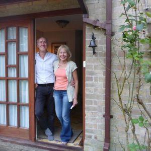 Bild Unsere Gastgeber Sean und Denise