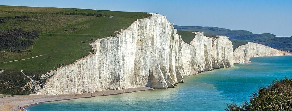 Die Kliffküste Seven Sisters