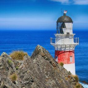 Leuchttürme prägen die Küste Cornwalls - Urlaub in England