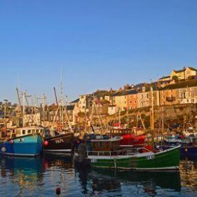 Ein typisch englischer Hafen
