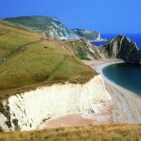 Entlang der Kreidefelsen der englischen Südküste
