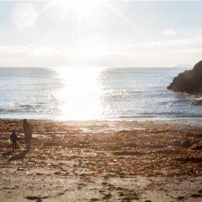 Sonnenuntergang am Meer - ein perfekter Urlaubstag