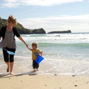 Ein Tag an der Küste Cornwalls