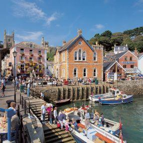 Fowey in Südengland - Urlaub in Cornwall
