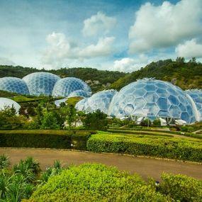Besuchen Sie das fantastische 'Eden Project' auf Ihrer Gartenreise