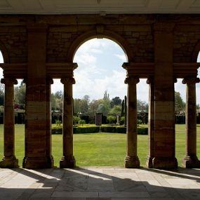 Der italienische Garten am Schloß in Kent