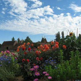 Sissinghurst Schloß Garten