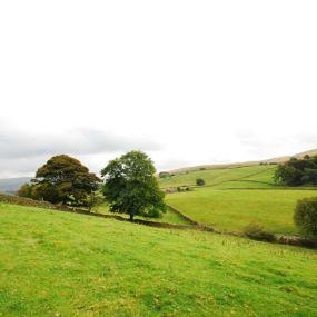 Blick in die Weiten der Yorkshire Dales