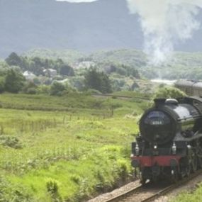 Eine Fahrt mit dem Jacobite Steam Train - ein Higlight dieser Reise