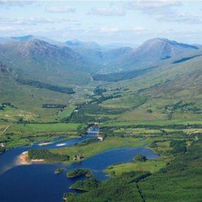 Loch Awe an der Westküste Schottlands