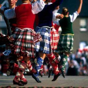 Schottische Traditionen wohin das Auge reicht