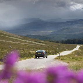 Autoreise durch Schottland