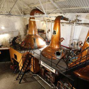 Ein Besuch in der Springbank Distillery lohnt sich - Whiskyreise Schottland