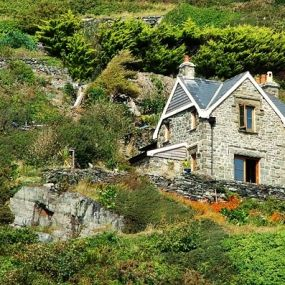 Traditionelle Cottages in  Wales