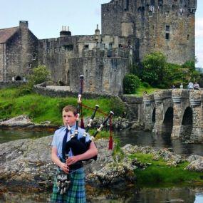 Eilean Donan Castle vor Skye