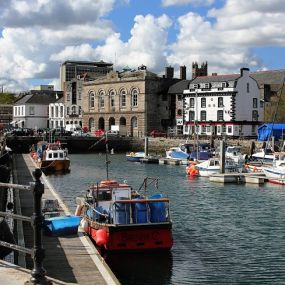 Hafenstadt Plymouth  - Südengland Rundreise