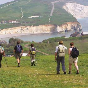 Freshwater Bay - Wanderurlaub auf der Isle of Wight_HF