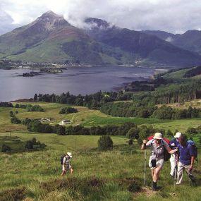 Glen Coe Tal - Wanderurlaub