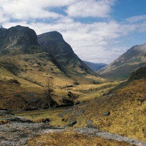 Glen Coe Tal - Wanderurlaub in Schottland