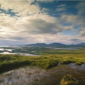 Sumpflandschaft im Brecon Beacons Nationalpark