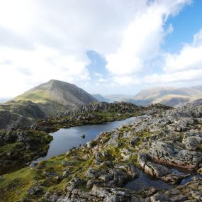 Blick auf den Lake District