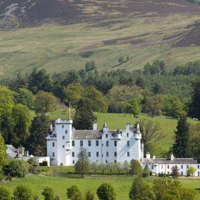 Schloß in den schottischen Highlands