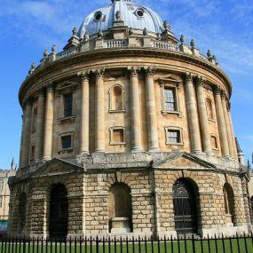 Die Bibliothek der berühmten Oxford Universität