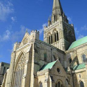 Die Kathedrale von Salisbury - Gartenreise England