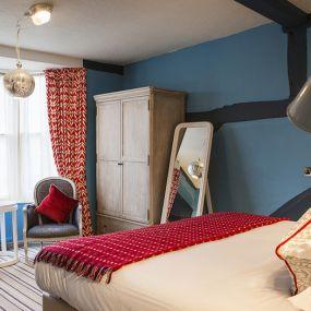 Zimmer mit Erker - typisch britisch