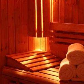 Relaxen Sie in der hoteleigenen Sauna