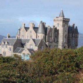 Urlaub auf einer schottischen Burg