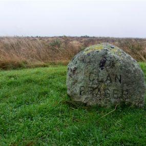 Culloden Battlefield - Fraser Stone