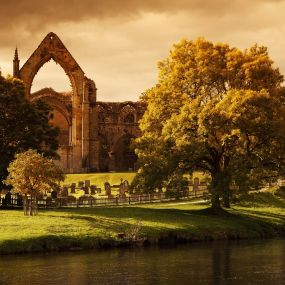 Bolton Abbey in den Yorkshire Dales