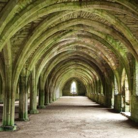 Spuk in Fountains Abbey
