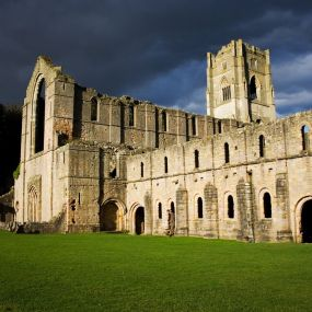 Fountains Abbey in den Yorkshire Dales