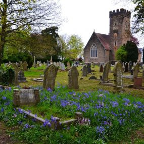 Ein Friedhof - ein Muss auf jeder Geisterreise