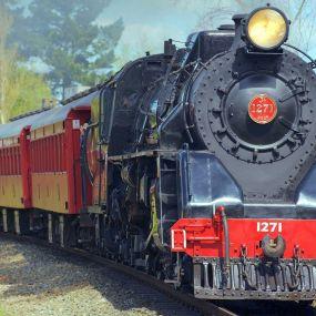 Steam Train in Ravenglass
