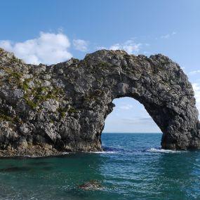 """Das """"Wahrzeichen"""" der Region Dorset"""